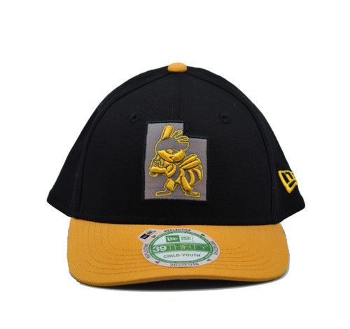 Jr State Flective 3930  - HeadwearStretchYouth - Salt Lake Bees - - Black - New Era