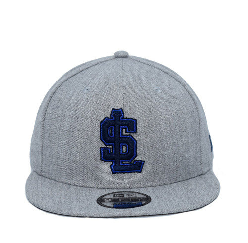 Heather Gray 950  - HeadwearAdjustableSnapbackMens - Salt Lake Bees - - Gray - New Era