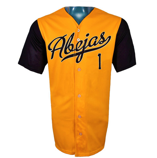 Abejas Authentic Jersey - NoveltyCollectiblesMemorabilia - Salt Lake Bees - 1 - Gold -