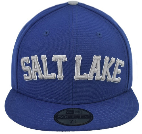 Royal Wordmark 5950 - HeadwearFittedMens - Salt Lake Bees -  - Royal - Vendor Name