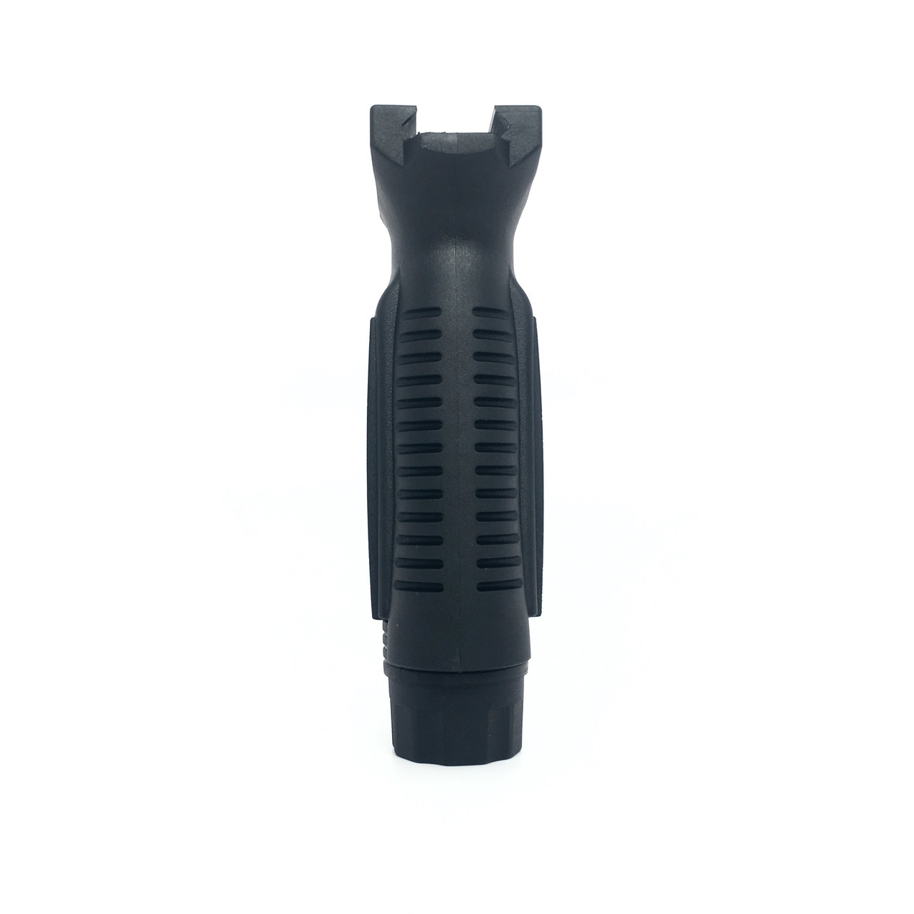 Vertical Grip with Finger Grooves