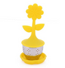 Floating Flower Infuser Yellow | Accessories | Holly Botanic