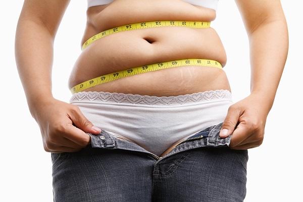 he tape measure test for measuring visceral fat
