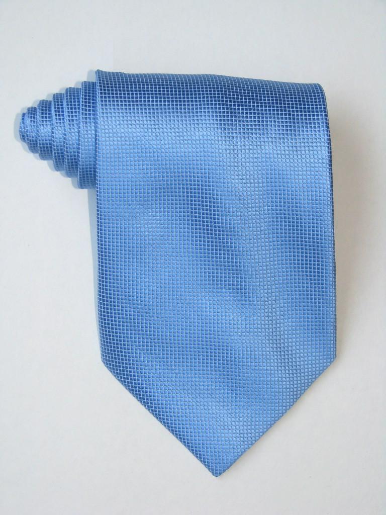 Free Little Squares Blue Tie