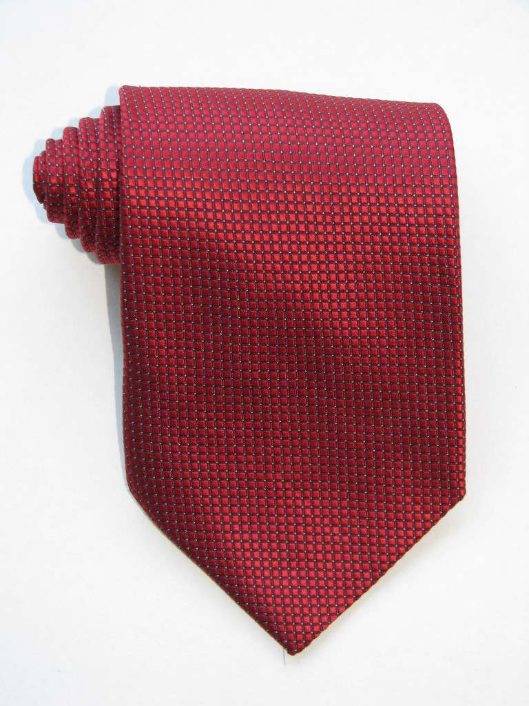 Little Squares Red Tie