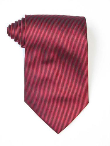 Burgundy Lined Tie