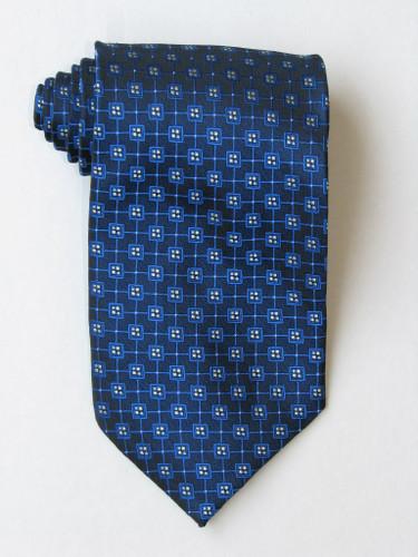 Multi Squares Blue Tie