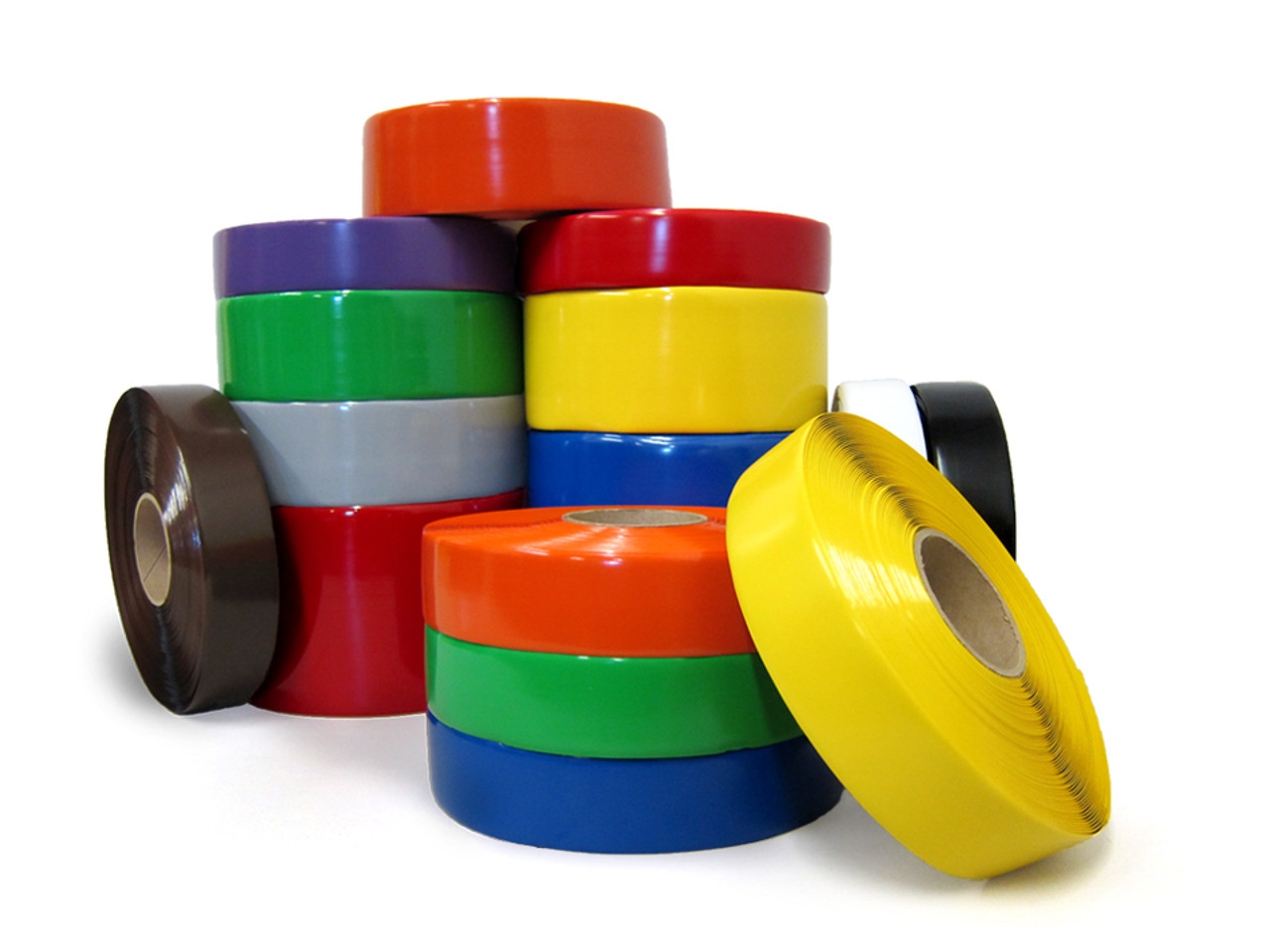 SafetyTac Industrial Floor Marking Tape   100u0027 Per Roll | Heavy Duty Vinyl Floor  Tape