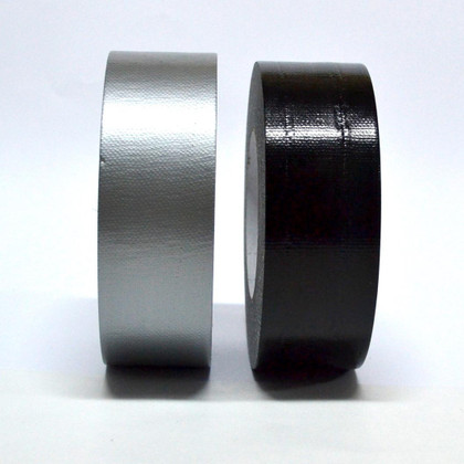 Bulk Duct Tape Rolls by Case - Silver or Black - As low as 1.16 per roll