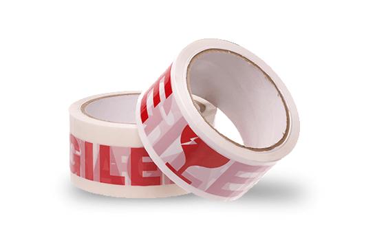 Standard custom printed poly pro tape