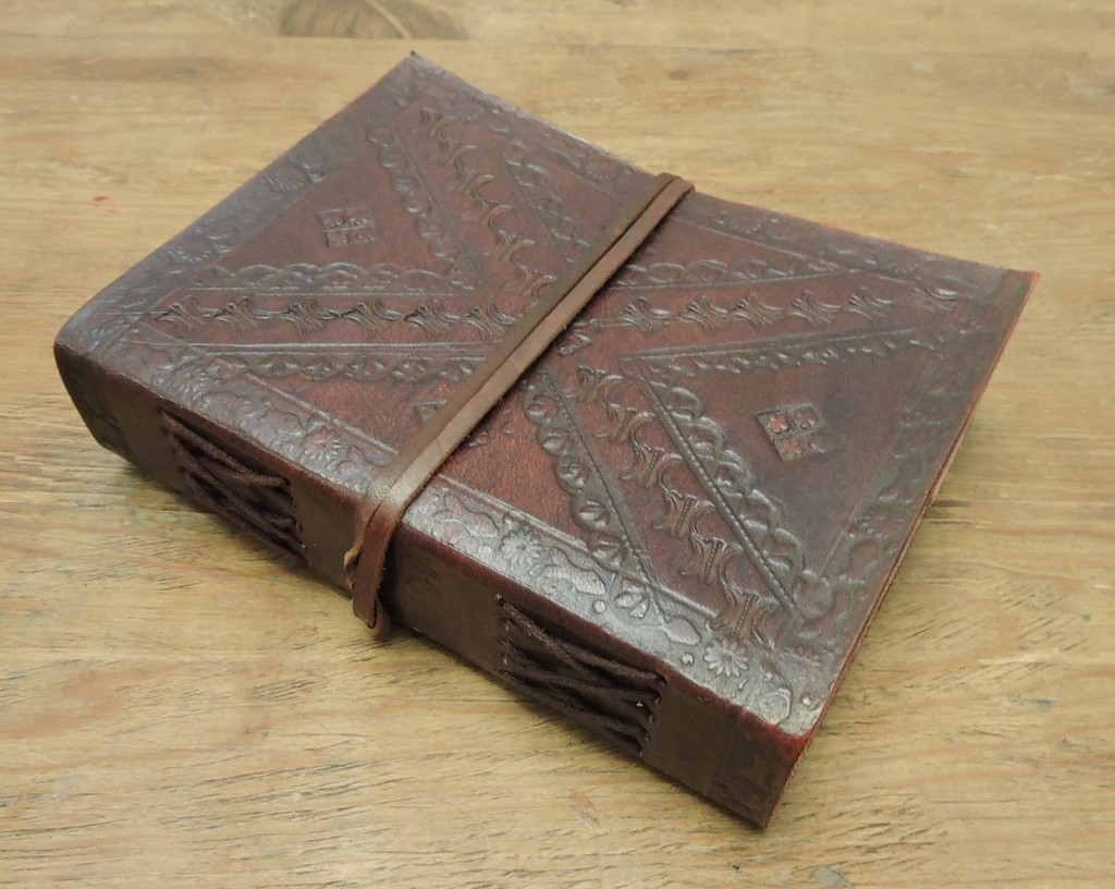 Old World Journal - tooled