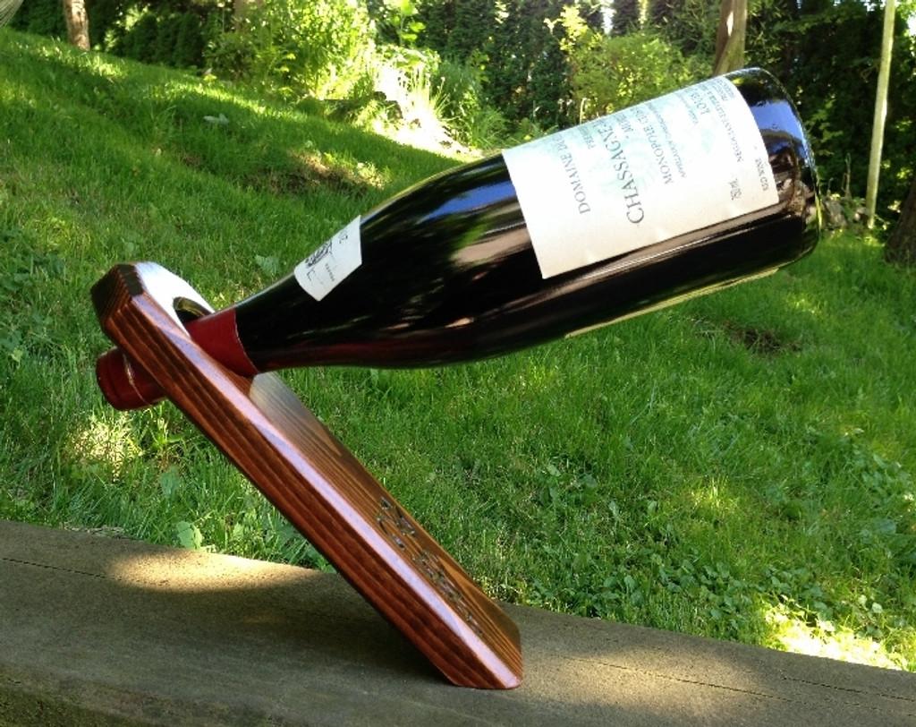 Free Standing Wine Bottle Holder