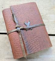 "Leather Journal - Small C - 4.75"" x 5.75"