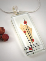 Momo Glassworks Poppy Perspectives Glass Pendant