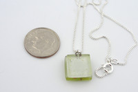 Glass Pendant - Admist Poppies