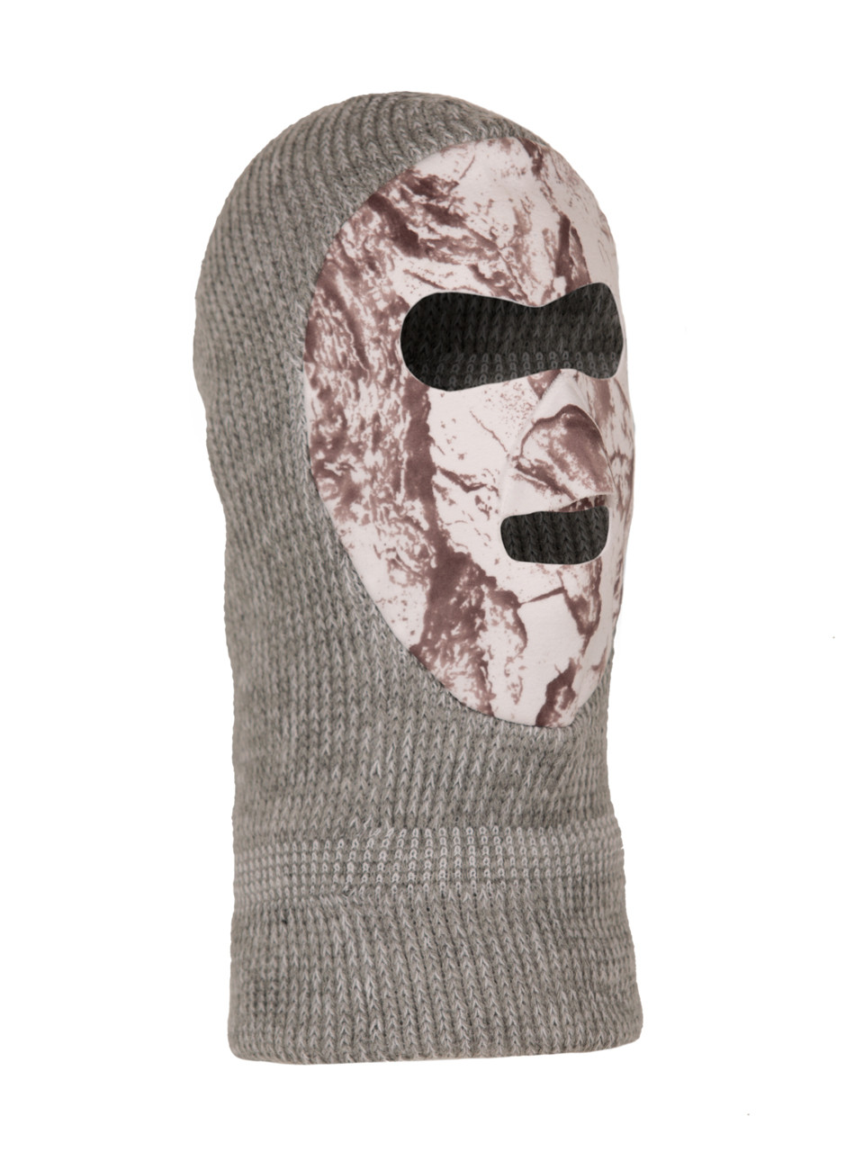 Snow Knit Face Mask - Winter Camouflage - Natural Gear