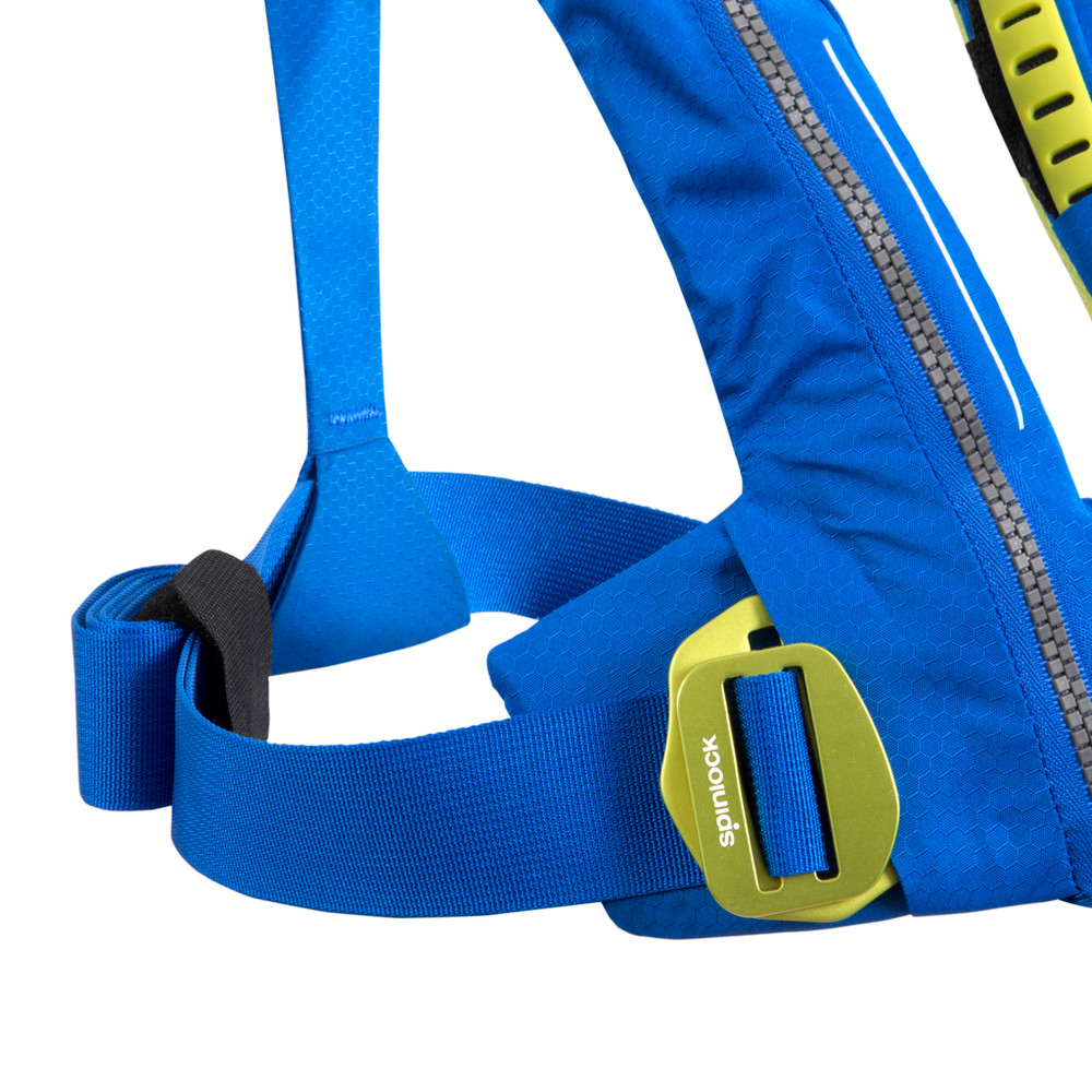 Spinlock Cento Pacific Blue buckle detail