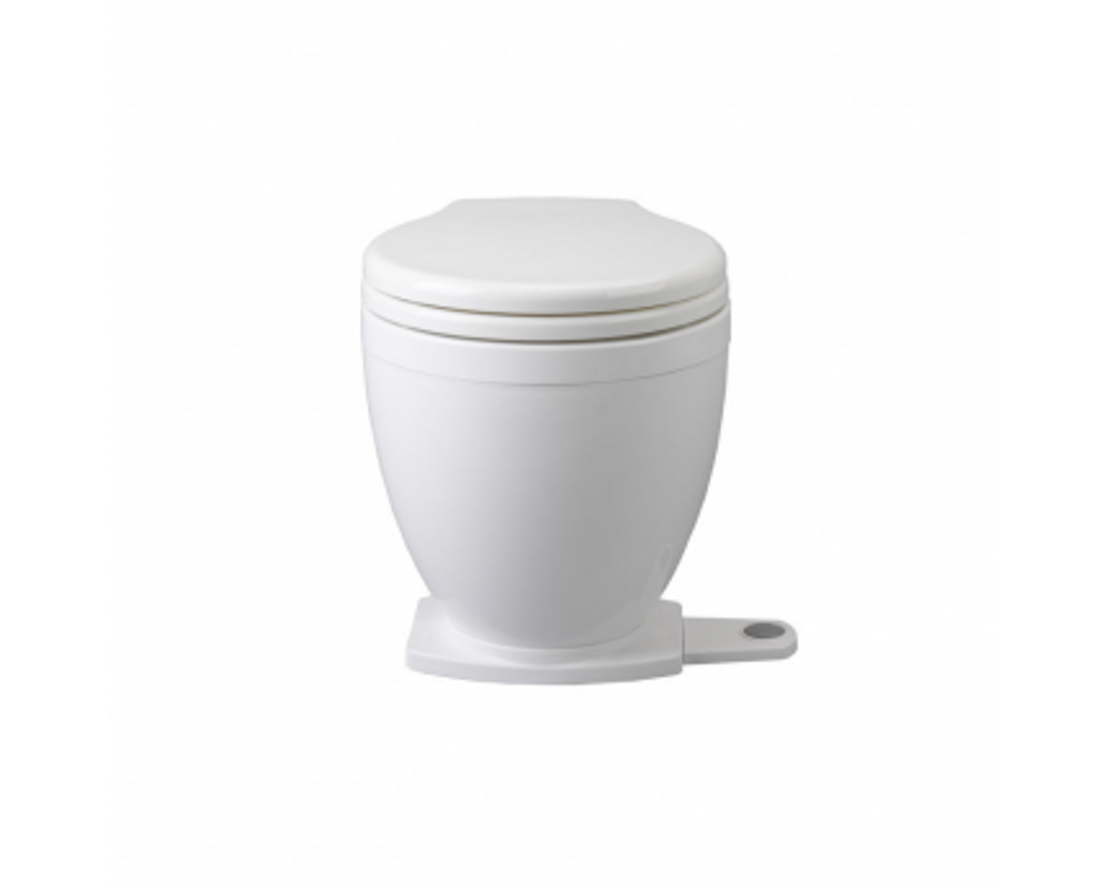 Jabsco Lite-Flush Toilet with Foot Switch Control