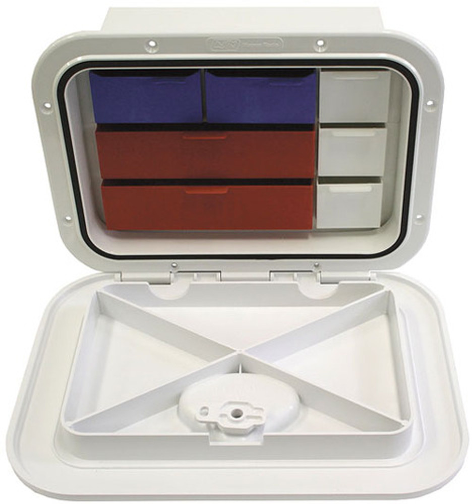 Deluxe Tackle Box & Hatch (RWB2335)