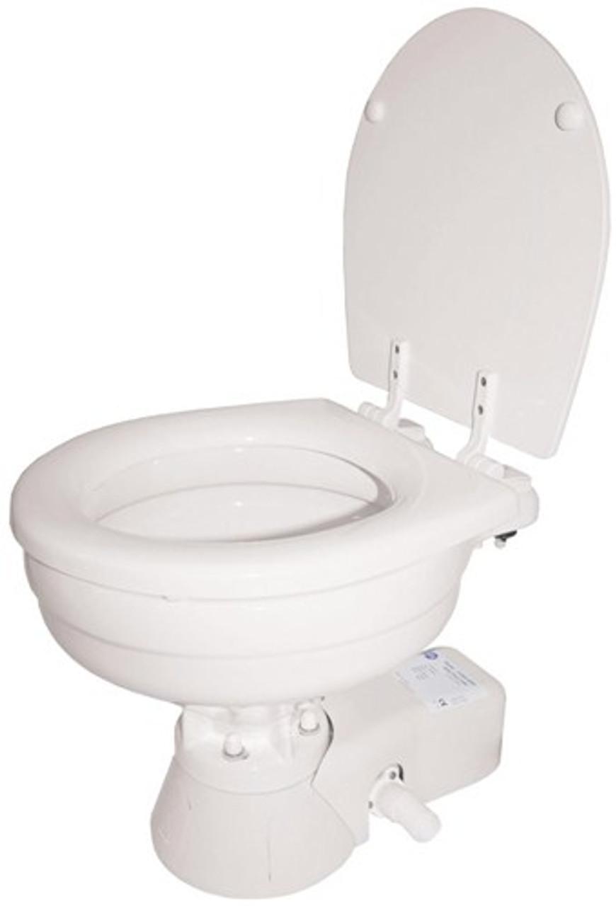 RWB Jabsco Quiet Flush Electric Toilet - Salt Water Flush 12v/24v