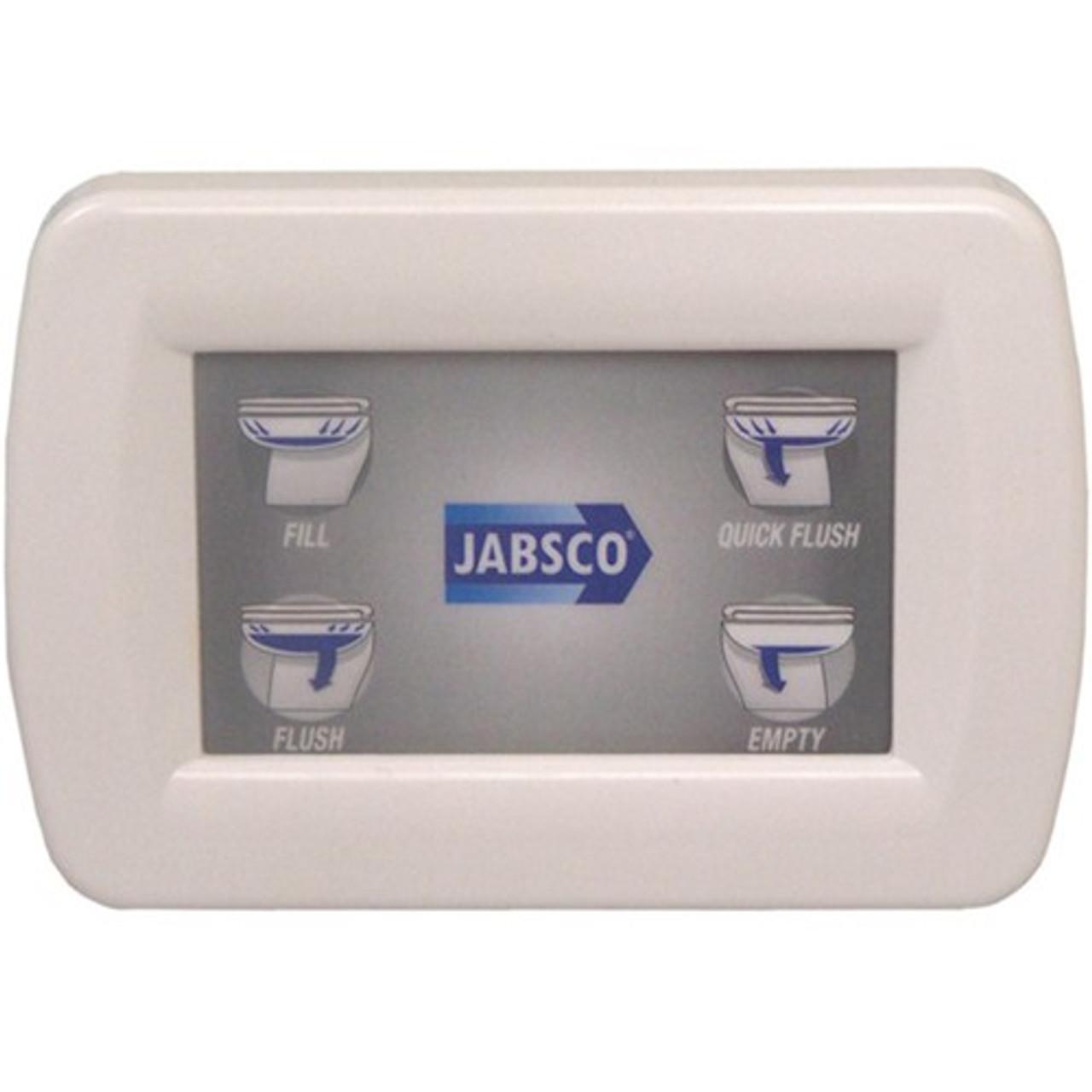 Jabsco Deluxe Silent Flush Controller Kit and Panel