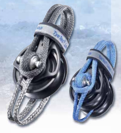 TyeTec Dyneema Loop as Beckets DSK 75 Blue