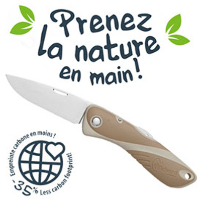 Wichard Aquaterra Bio-sourced Knife - Sandy Brown