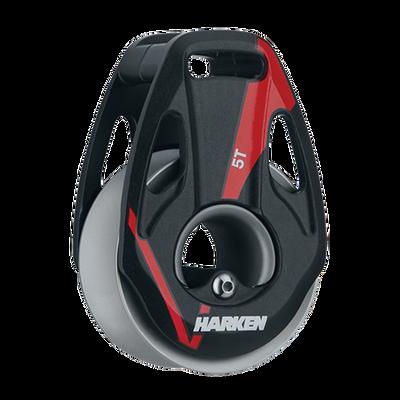 Harken 5.0T Alum Loop V Block w/Wide Sheave
