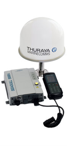 Thuraya Seagull 5000i Voice & Data Terminal with Passive/Active Antenna