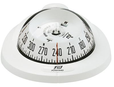 Plastimo Offshore 75 Compass Flush Mount - White