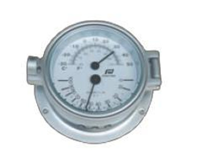 4.5 inch thermometer-hygrometer hinged