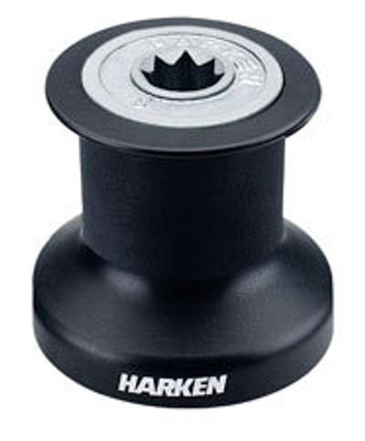 Harken Single Speed Winch with Alum/Composite  Base, Drum & Top