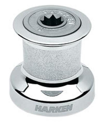 Harken Single Speed Winch with Chromed Bronze Base, Drum & Top (B8CCA)