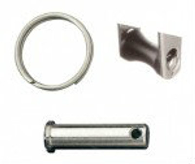 Ronstan Series 40 Replacement Becket, Pin, Split Ring