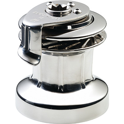 Andersen 12ST Winch, 1-Speed, Full Stainless