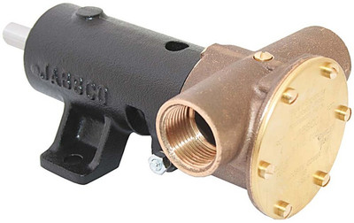 "Jabsco Pump Bronze Ped. Heavy Duty 1"" BSP (J50-123 Jabsco 9710-200)"