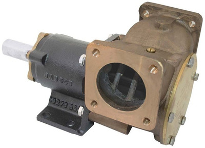 RWB Jabsco Heavy Duty Composite Pump Bronze Flanged Ports 2""