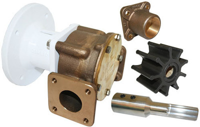 "RWB Jabsco Bronze Pump Head Kits Only 1 1/2"" & 2"""