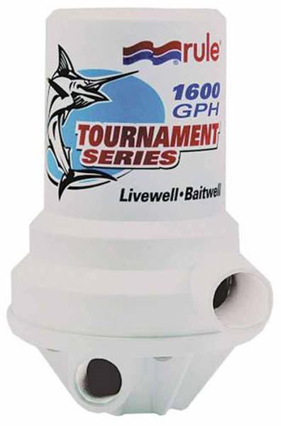 RWB Livewell Cartridge Pump - Dual Port 1600GPH (RWB55)