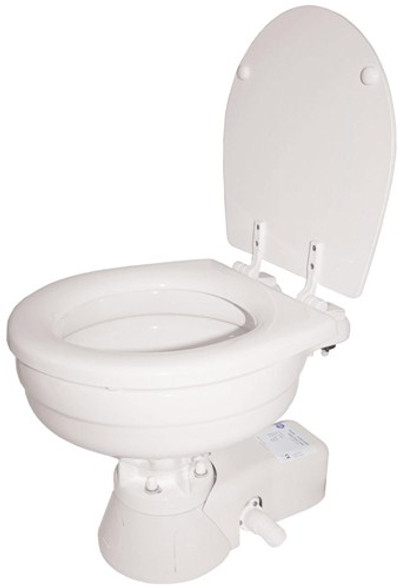 RWB Jabsco Quiet Flush Electric Toilet - Salt Water Flush 12v/24v