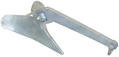 Galvanised Plough Anchors (RWB7268-RWB7272)
