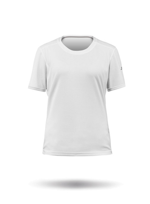 Zhik Zhikdry LT Short Sleeve Top - White