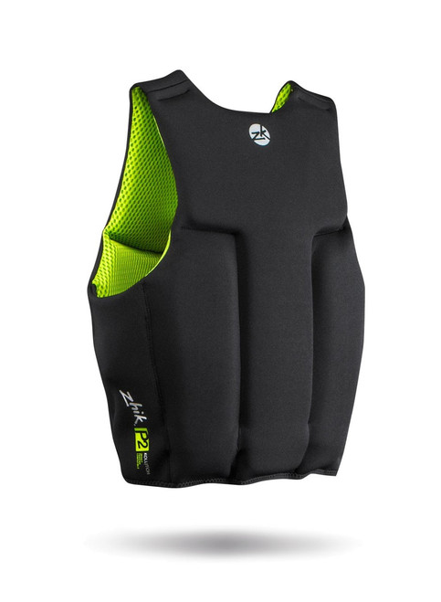 Zhik P2 Contoured PFD Lifejacket - Black back