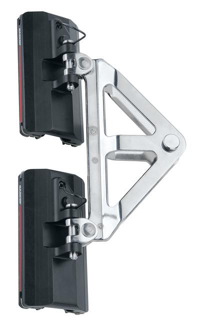 Harken 22mm CB Headboard Car Assembly - Quick-Release, System A Quick Pin