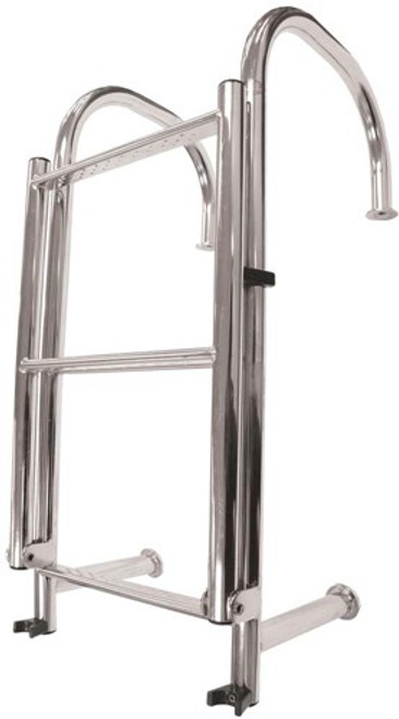 Stainless Steel 4 Step Angled Ladder (RWB268)