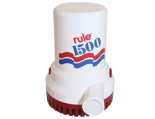 Rule Bilge Pump 1500 GPH 12V/24V (RWB16/RWB100)