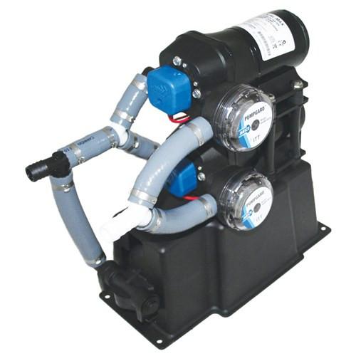 RWB Jabsco 28 Litre Dual-Max 7.5 Freshwater Pressure System 12v/24v (J20-128/J20-129)