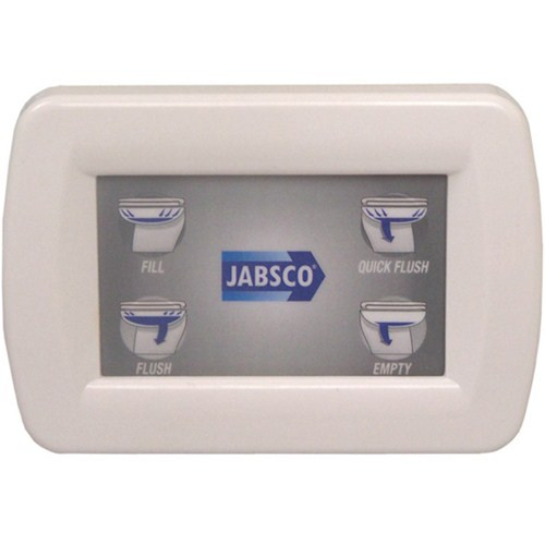 Jabsco Deluxe Silent Flush Controller Kit and Panel