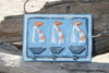 "Sailboat Hanger 10"" w/ 3 Pegs - Nautical Decor | #dpt523023"