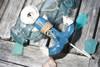 "Anchor Hanger 6"" - Coastal Blue Decorative Accent   #ata1800815b"